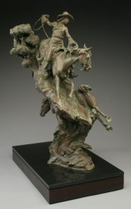 Wild Horses, Wilder Women {3} 39 ½' x 27 ½' x 17'
